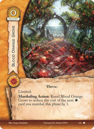 Blood Orange Grove