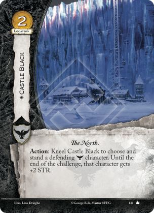Castle Black Core Set A Game Of Thrones 2nd Edition A Game Of