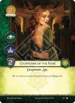 Courtesan of the Rose