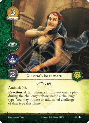 Olenna's Informant