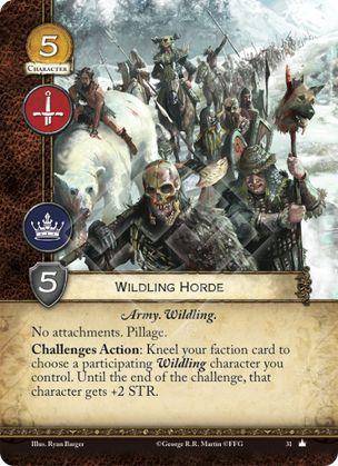 Wildling Horde
