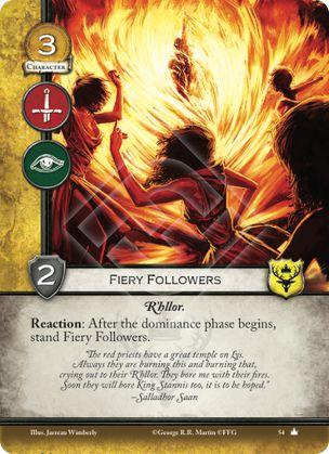 Fiery Followers