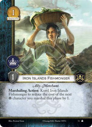 Iron Islands Fishmonger