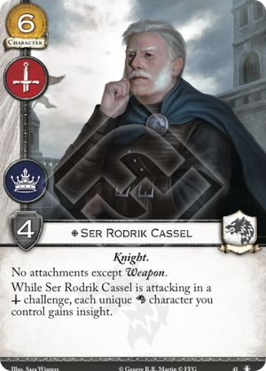 Ser Rodrik Cassel
