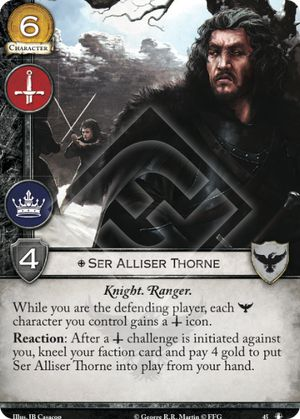 Ser Alliser Thorne