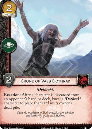 Crone of Vaes Dothrak