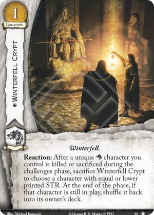 Winterfell Crypt