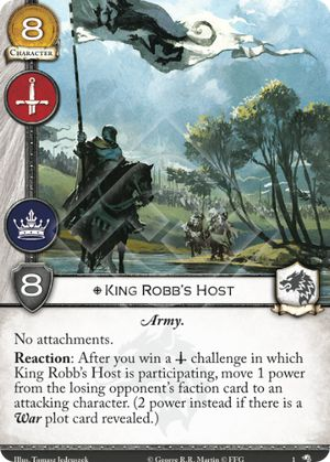 King Robb's Host