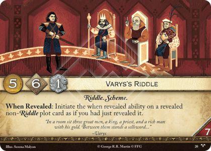 Varys's Riddle