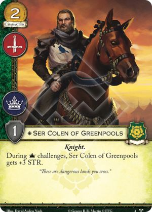 Ser Colen of Greenpools