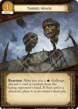 Tarred Heads