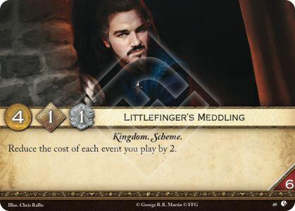 Littlefinger's Meddling
