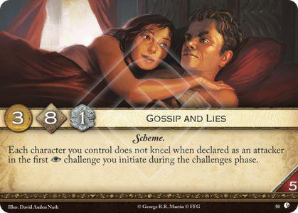 Gossip and Lies