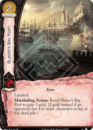 Slaver's Bay Port