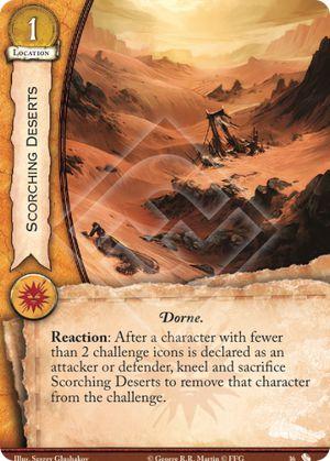 Scorching Deserts