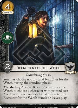 Recruiter for the Watch