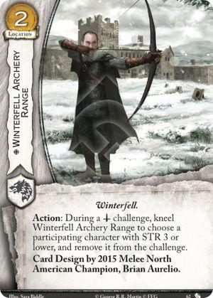 Winterfell Archery Range