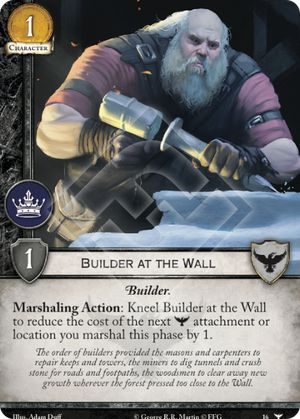 Builder at the Wall
