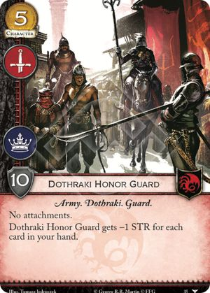 Dothraki Honor Guard