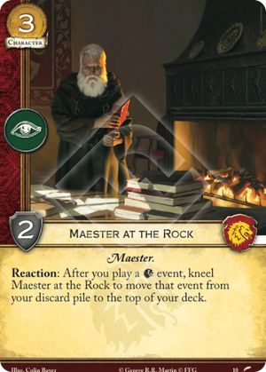 Maester at the Rock