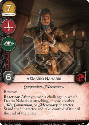 Daario Naharis · ThronesDB Daario Naharis Arakh