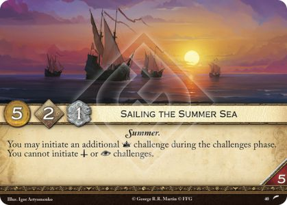 Sailing the Summer Sea