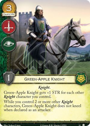 Green-Apple Knight
