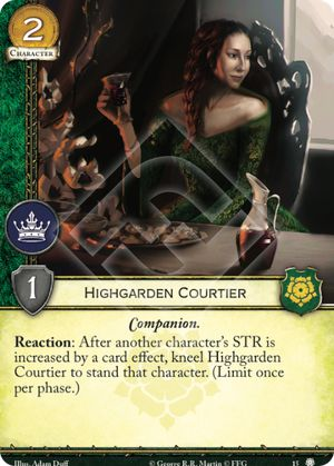 Highgarden Courtier