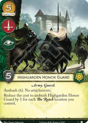 Highgarden Honor Guard