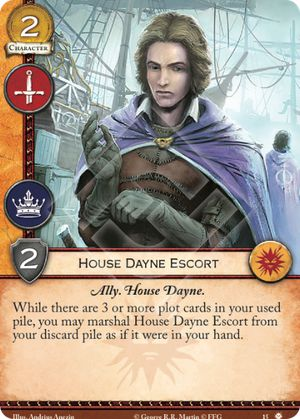 House Dayne Escort