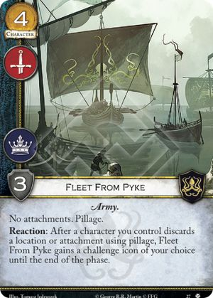 Fleet From Pyke