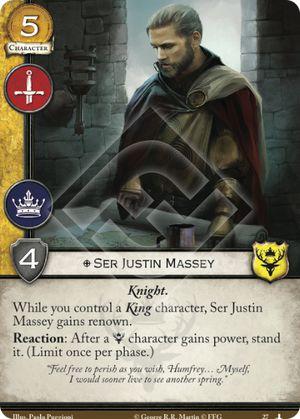 Ser Justin Massey