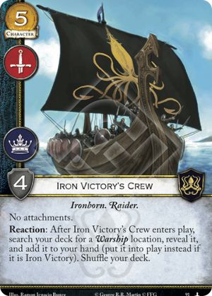 Iron Victory's Crew