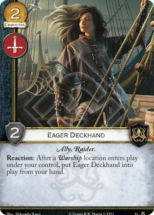 Eager Deckhand