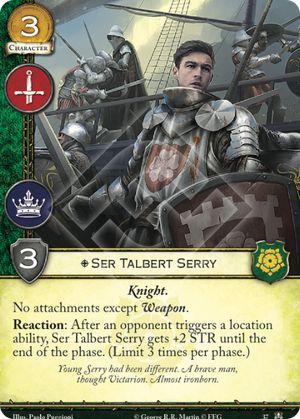 Ser Talbert Serry