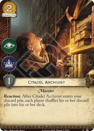 Citadel Archivist