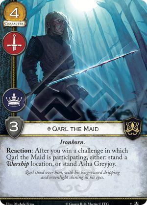Qarl the Maid