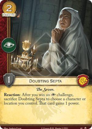 Doubting Septa