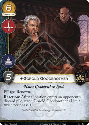 Gorold Goodbrother