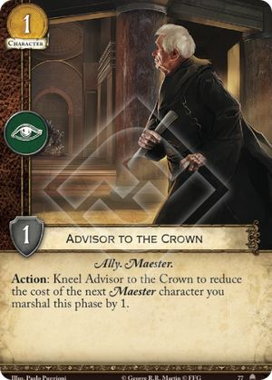 Advisor to the Crown