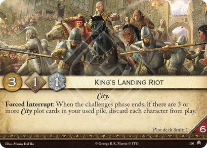 King's Landing Riot