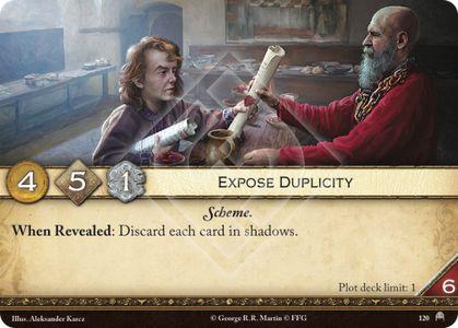 Expose Duplicity