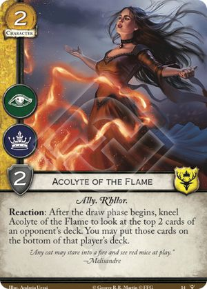 Acolyte of the Flame