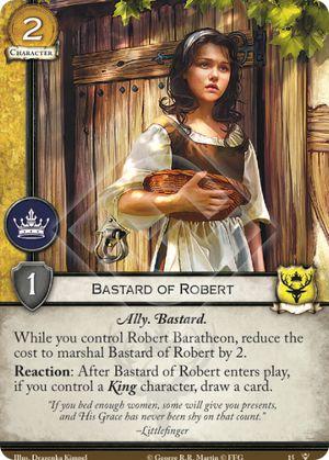 Bastard of Robert