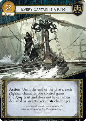 Lyn Corbray AGoT LCG 2.0 Game of Thrones Fury of the Storm 39