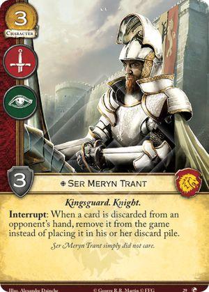 Ser Meryn Trant