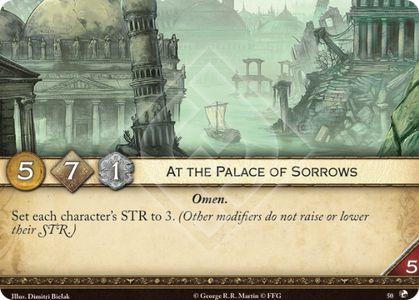 At the Palace of Sorrows