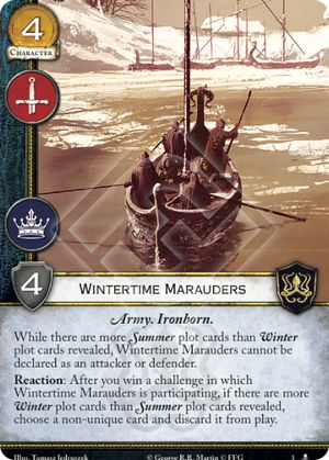 Wintertime Marauders
