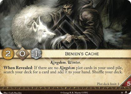Benjen's Cache