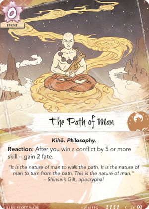 The Path of Man